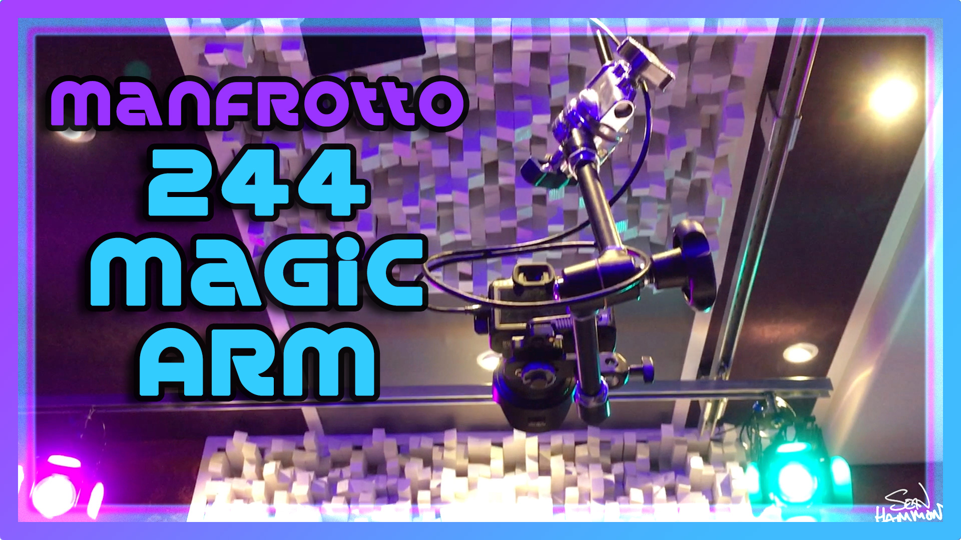 Manfrotto 244 Magic Arm Video Review